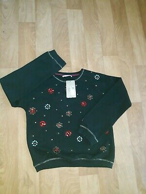 MARK'S AND SPENCER'S GIRLS JUMPER  AGE 13-14 YEARS new with TAG