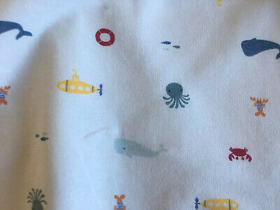 The Little White Company Baby Boy Sleeping Bag  Tog 1 Size 0-6 Months