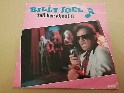 """Billy Joel * Tell Her About It * 7"""" Single Excellent 1983"""