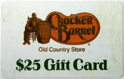 CRACKER BARREL Restaurant Gift Card Collectible NO Value RARE