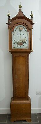 Beautiful Long Case Grandfather Clock. Circa 1800 by J Simpkin, Rillington