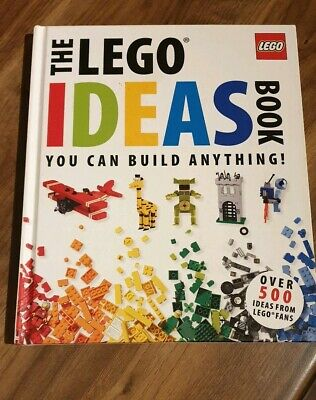 The Lego Ideas Hardback Book - You Can Build Anything!