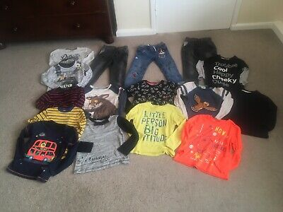 Boys Clothing Bundle Age 5/6 Jeans / Long Sleeved Tops