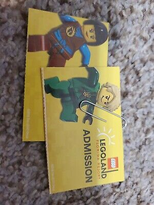 2 Legoland Park & Waterpark Admission Tickets (1 Day:Florida)