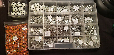 Enormous Collection Of Jewelry Making Supplies, Charms, Pendants DI.Y