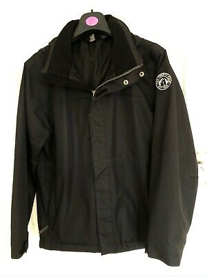 Tog 24 Black Waterproof Coat Age 13 Years Unisex