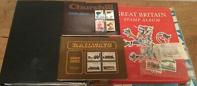 Stamp Albums Inc 60 First Day Covers Collectable Sets + Mixed Bag Bargain  L@@K