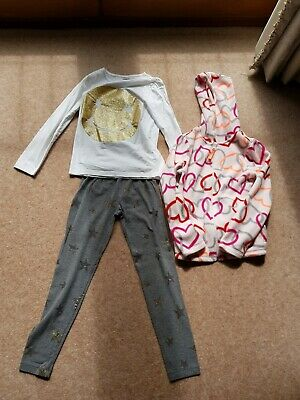 Crazy 8 (Gymboree) 3 Piece Outfit Bought In Usa Age 7-8 Good Used Condition
