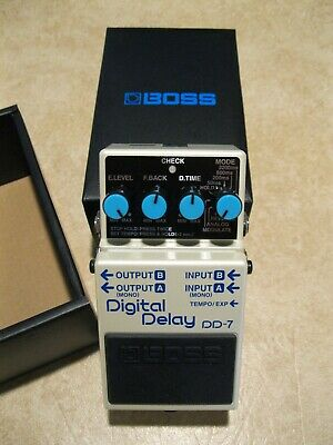 Boss DD-7 Digital Delay Guitar Effect Pedal, Excellent Condition