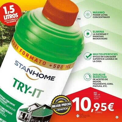 Stanhome Try-It Superconcentrado 1500 Ml