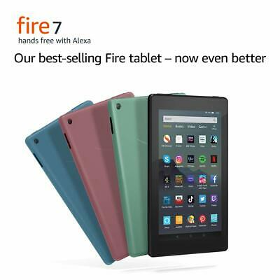 """New Amazon Kindle Fire 7"""" Tablet 16GB with Alexa (9th Gen) Black Latest 2019"""