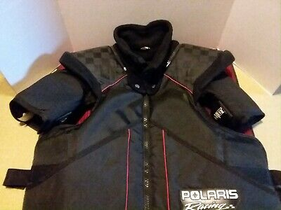 Snowmobile Tek Vest Polaris Snow Products XXL TTG Drag Racing Motorcycle
