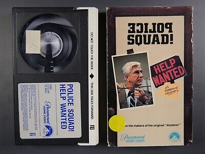 Police Squad! Help Wanted (1982) - Betamax Movie (NOT VHS)