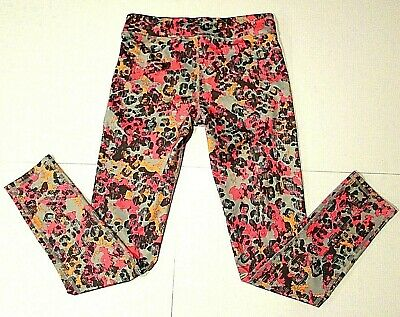 Old Navy Legging Active Girls XL 14 Go-Dry Multi-Color Leopard  Stretch in style