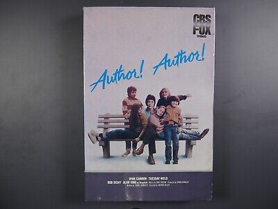 Author! Author! (1982) - Al Pacino - NEW, SEALED Betamax Movie (NOT VHS)