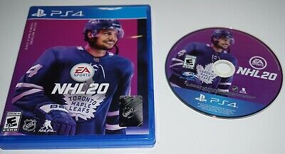 NHL 20 (Sony Playstation 4 ps4) Complete GREAT Shape