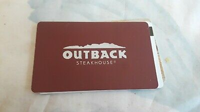 $40.00 Outback SteakHouse Gift Card FREE SHIPPING