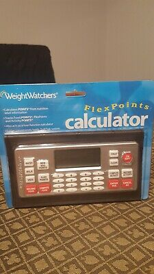 New in Package 2003 Weight Watchers Flex Points Value Calculator Flexpoints