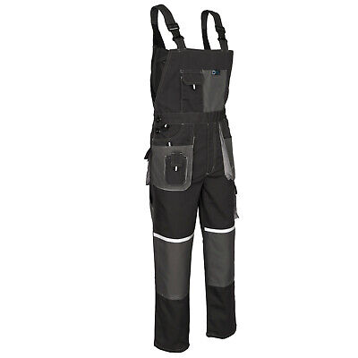 Work Bib and Brace Overalls, Multipockets, Wear Resistand Knee Pad // FAST DSP