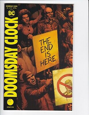 Doomsday Clock #1-9 + Lenticular Variant (Hq Scans) Dc Comics 2017 - Hbo! 3 4 6