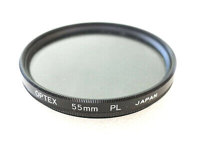 Filtre Photo polarisant Linear polarizer COKIN Objectif Lens 55 mm