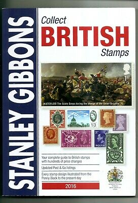 Stanley Gibbons COLLECT BRITISH STAMPS Catalogue 2016 USED