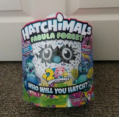 Hatchimals Fabula Forest featuring Puffatoo w/ +2 Bonus Hatchimals CollEGGtibles