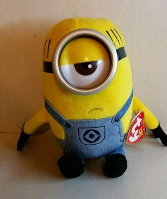 NEW Despicable Me 3 Movie Ty Beanie Baby Babies~ TIM the Minions 6 Inch