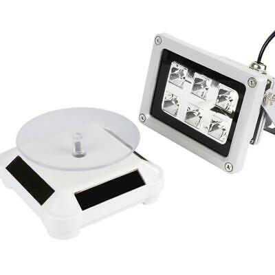 Resin Solidify Photosensitive Curing Light Solar Powered Rotary Display Stand