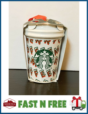 Starbucks 2019 - MERRY COFFEE - Holiday Christmas Ornament