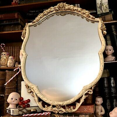 Vintage 1950s Rococo style ornate Mirror by renowned HIGH QUALITY maker ATSONEA