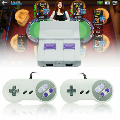 HDMI Super NES Classic Edition Console SNES Mini SFC Retro Built-in 821 Game USA