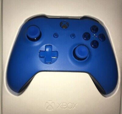 Xbox One Wireless Controller Blue Excellent Condition 3.5mm Jack New Without Box
