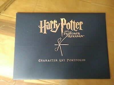 Harry Potter And Prisoner Of Azkaban Art Portfolio Limited Collectors Edition
