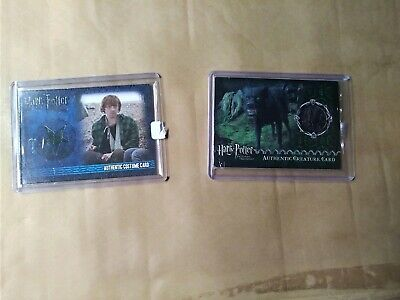 Harry Potter Ron Weasley Grim Fur Costume Pieceworks Relic Cards