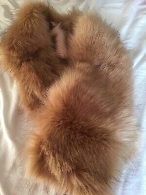 Topshop brown fur snood *BNWT* soft* cosy* faux* winter RRP£35