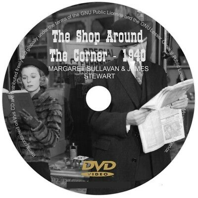 The Shop Around The Corner Dvd 1940 Margaret Sullavan  James Stewart Movie Film