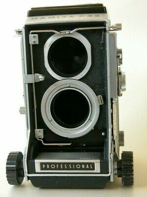 Mamiya C33 TLR, cleaned and lubricated, body only.