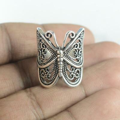 Antique Designer 925 sterling silver Plated Ethnic jewellery Ring Rg1120