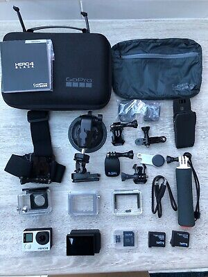 GoPro Hero4 Black Edition + Accessories