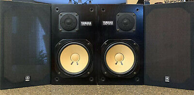 Yamaha NS-10M Studio Monitor, Left And Right,Good,Work Perfectly,#186801 L/R (G)
