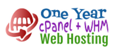 One Year cPanel + WHM Web Hosting - Unlimited Web Space, Unlimited Bandwidth