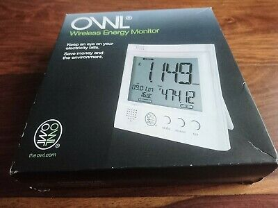Owl Wireless Energy Monitor. Electricity Power Monitoring.
