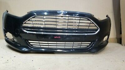 FORD FIESTA MK6 02-05 FRONT BUMPER PRIMED WITH 3 GRILLES NO FOG TYPE