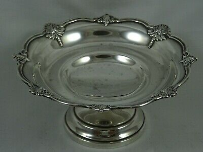 SOLID silver SWEET DISH, 1927, 106gm - Walker & Hall