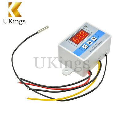 12V Digital W3003 Thermostat Temperature Control Switch Sensor Module 50~110°C