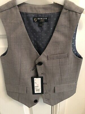 Boys 3 piece grey Howick at House Of Fraser suit New with tags - 3-4 Years