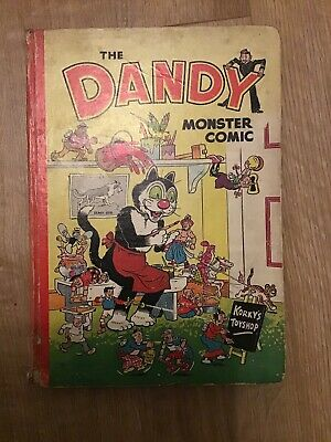 The Dandy Monster Comic Book Annual 1952