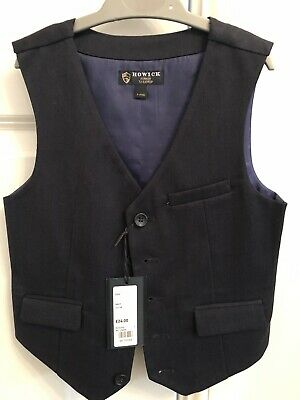Boys 3 piece Navy Howick at House Of Fraser suit New with tags - 3-4 Years