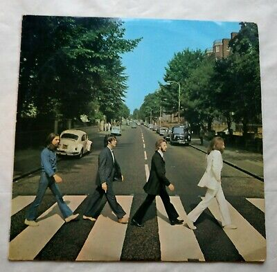 The Beatles Abbey Road LP UK 1969 First Press Apple PCS 7088 VG+/VG++